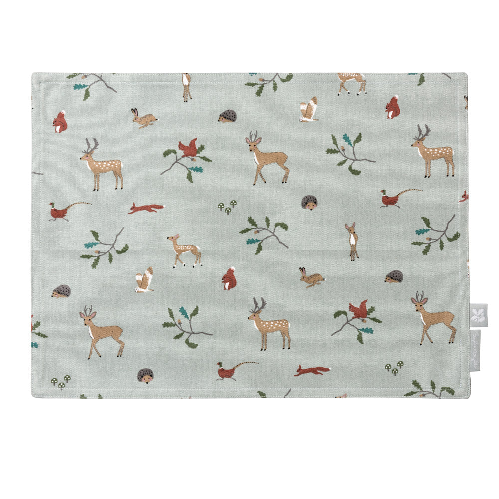 Woodland Fabric Placemat