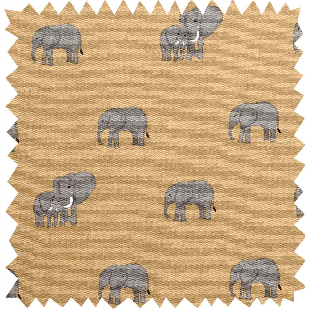 Elephant Fabric Sample