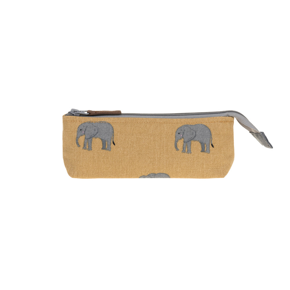 Elephant Canvas Accessory Case