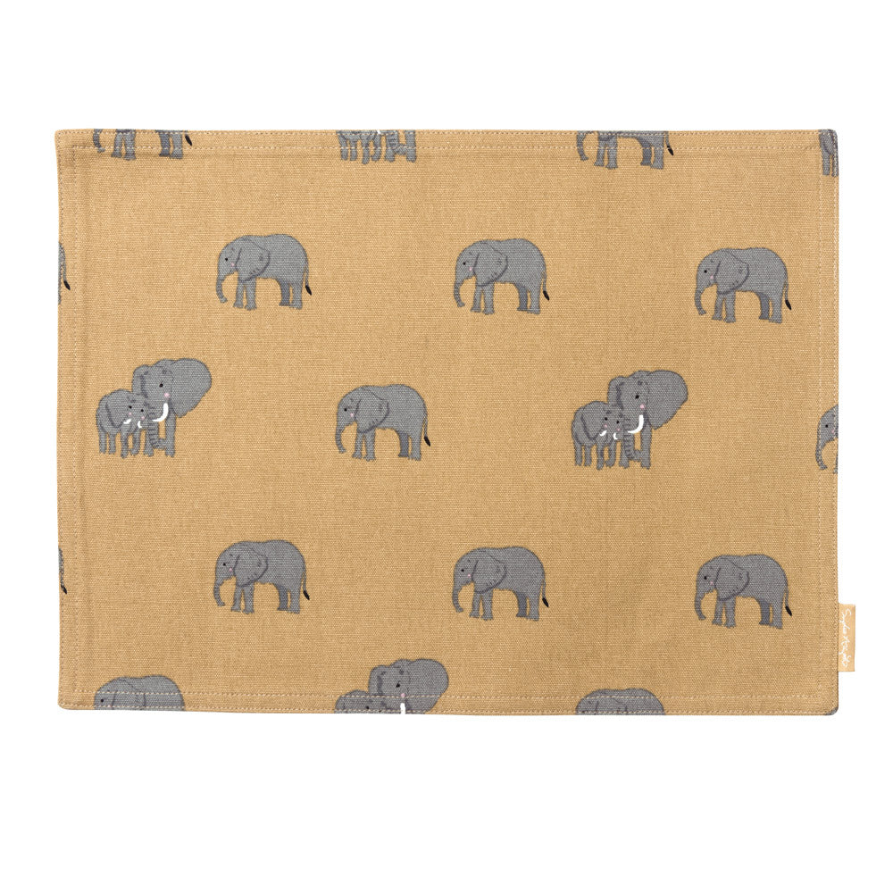 Elephant Fabric Placemat