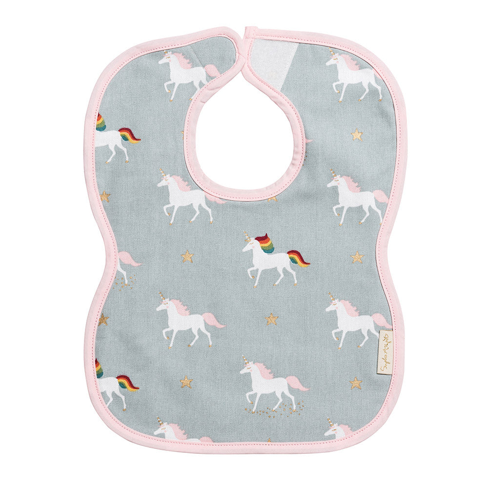 Unicorn Child Bib