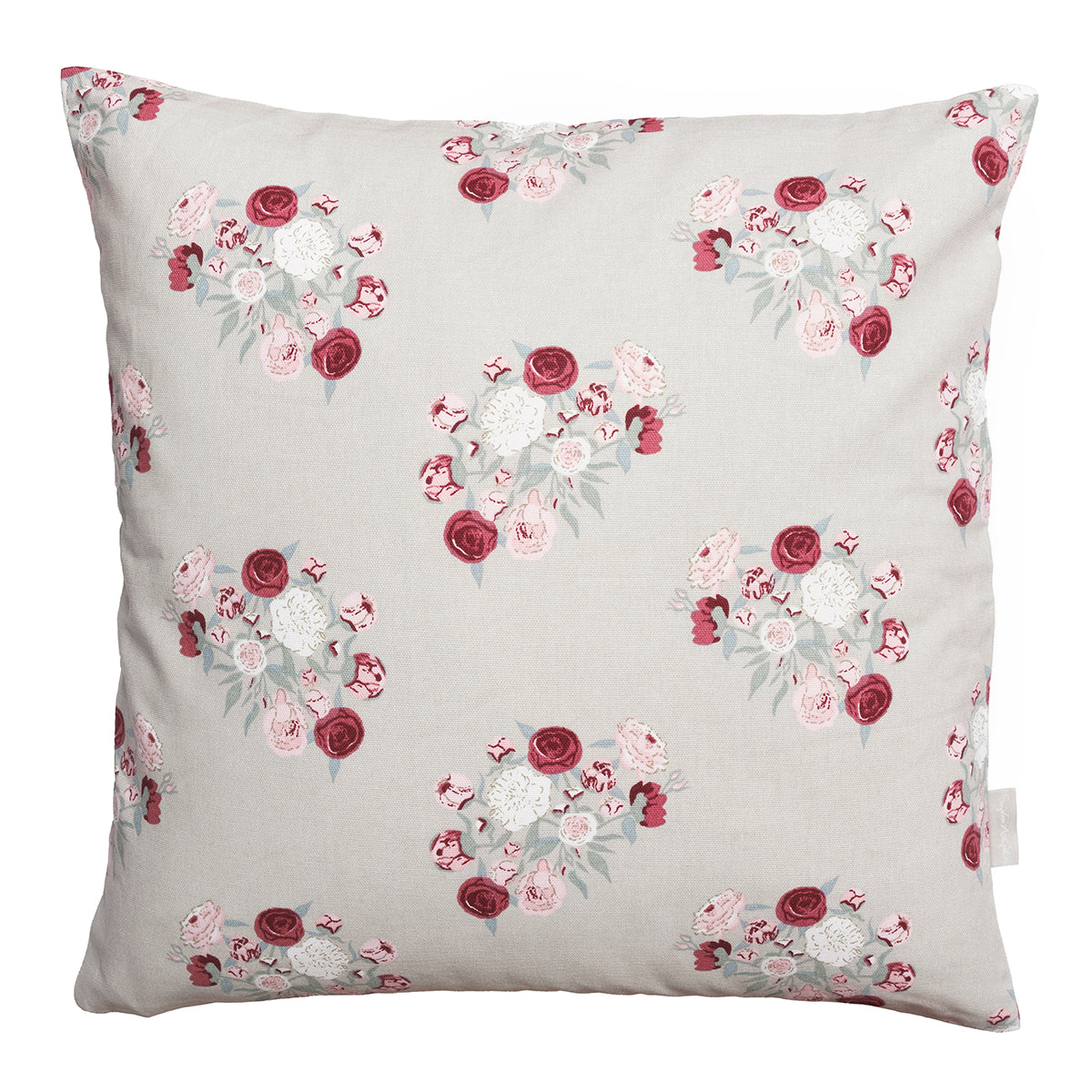 peony cushion by Sophie Allport