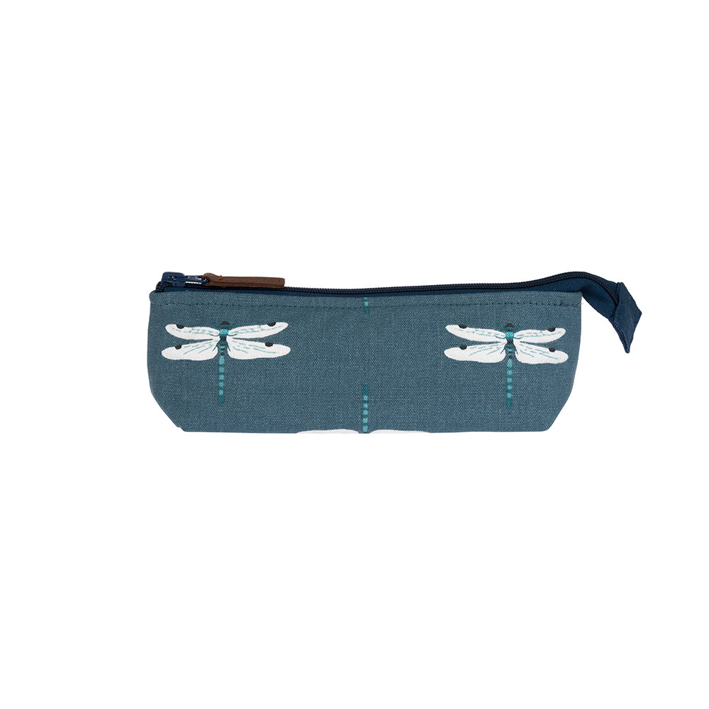 Dragonfly Canvas Accessory Case