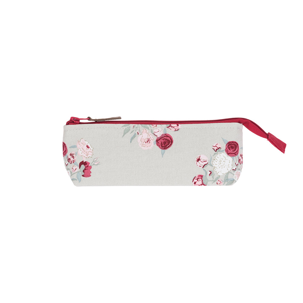 Peony Canvas Accessory Case