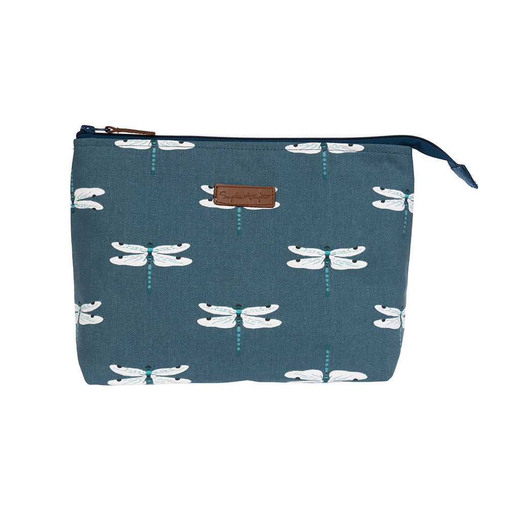 Dragonfly Large Canvas Wash Bag