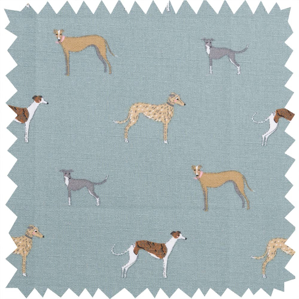 Speedy Dogs Fabric By the Metre