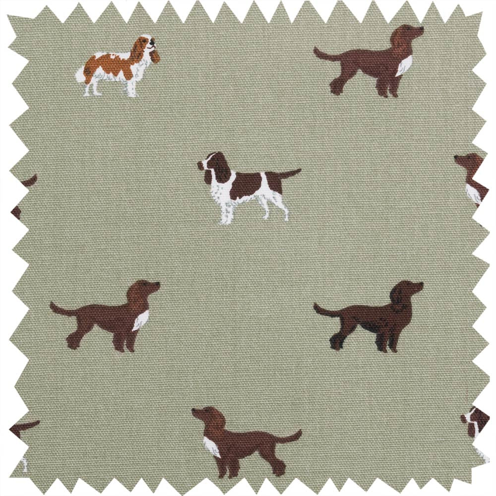 Spaniels Fabric By the Metre