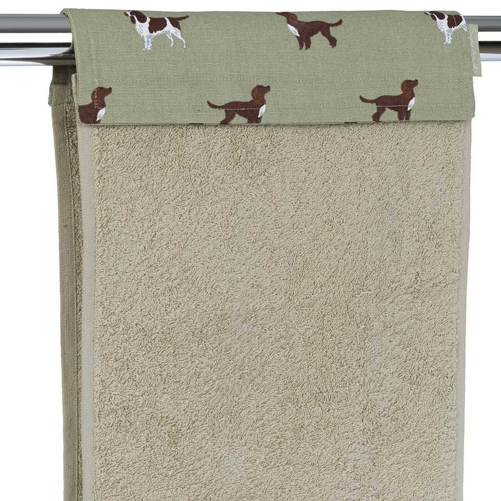 Spaniels Roller Hand Towel