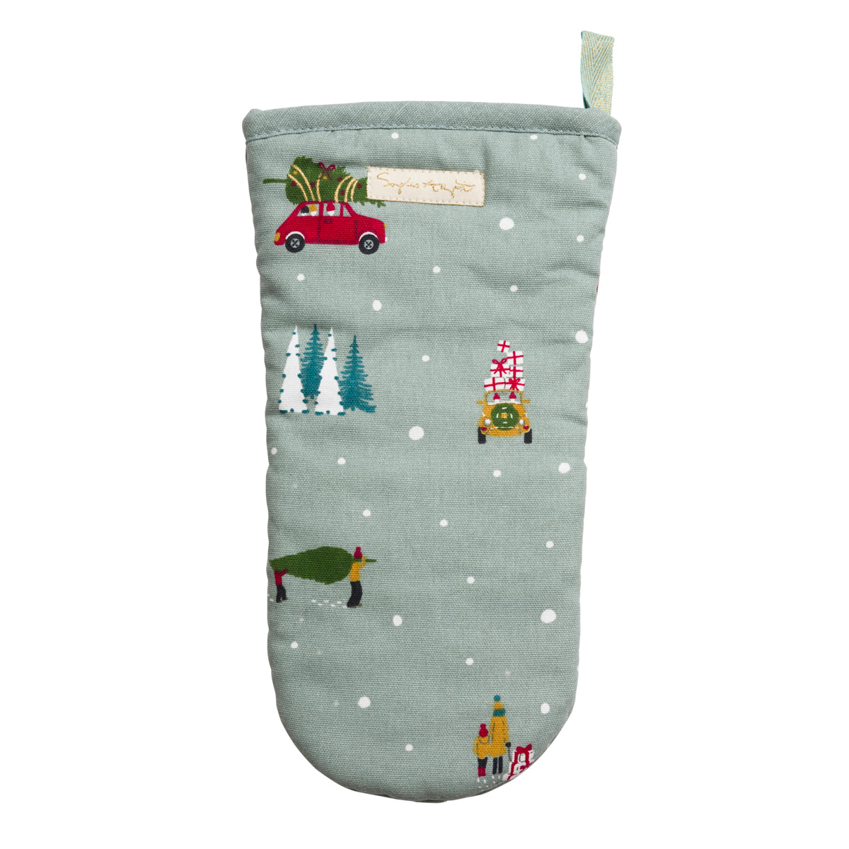 Home for Christmas Oven Mitt