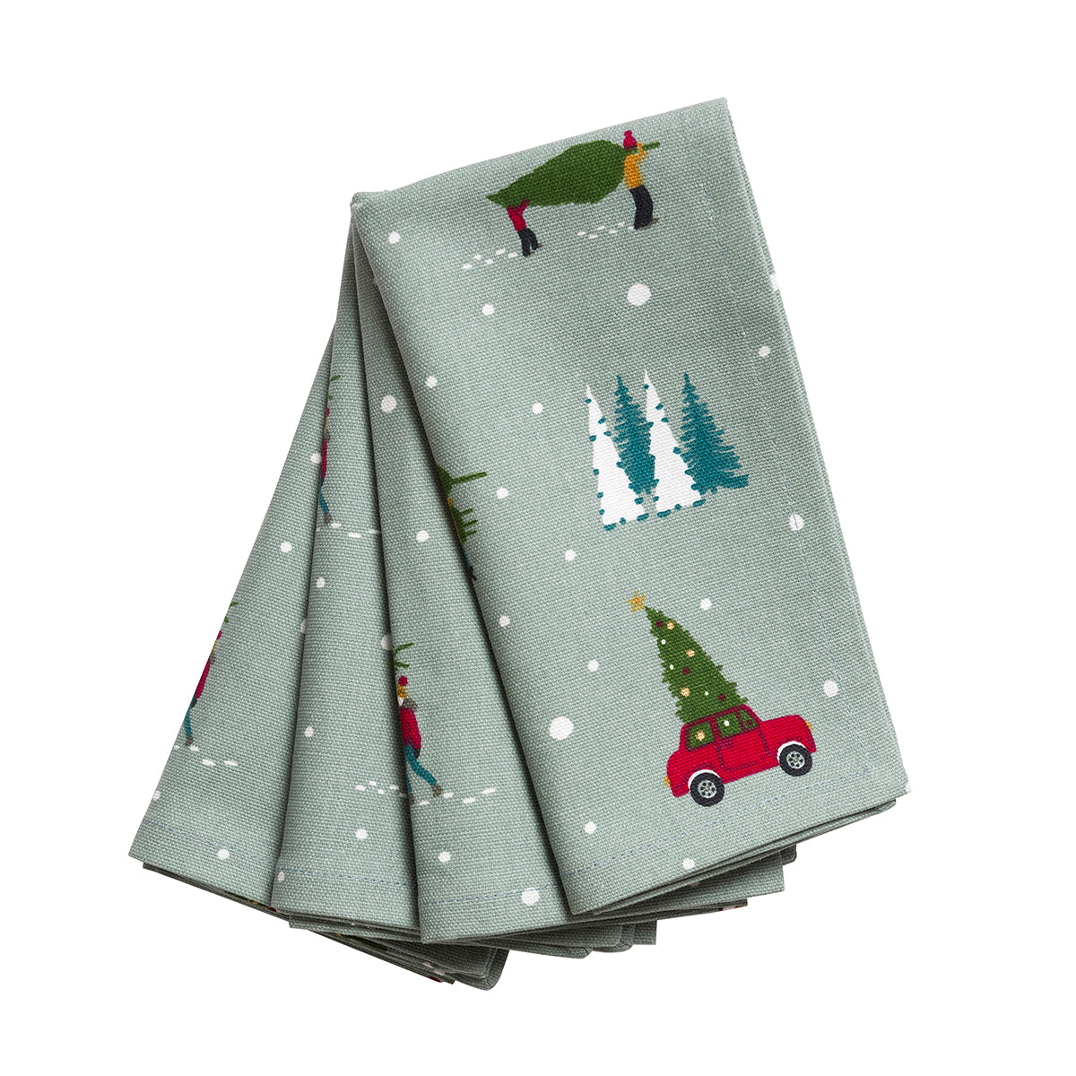 Home for Christmas Napkins (Set of 4)