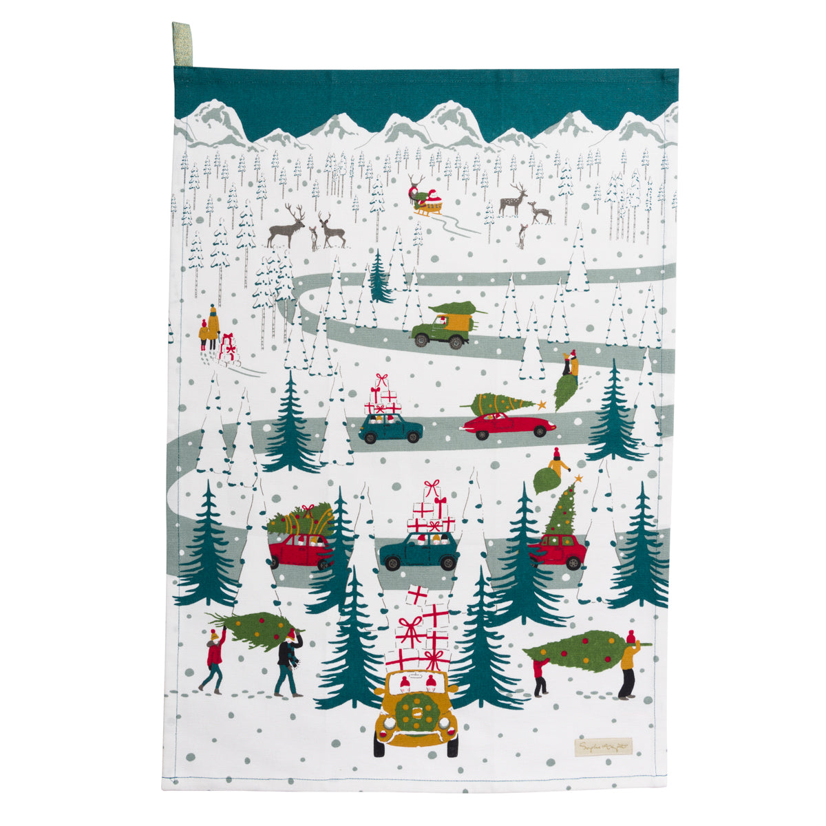 Tis The Season Tea Towel