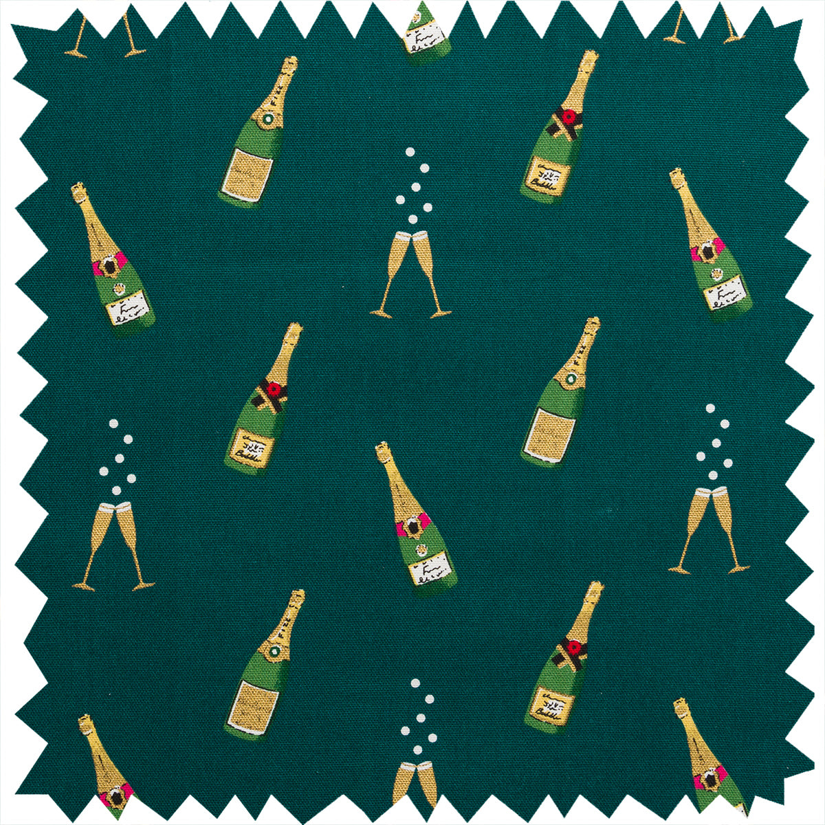 Bubbles & Fizz Fabric by the Metre