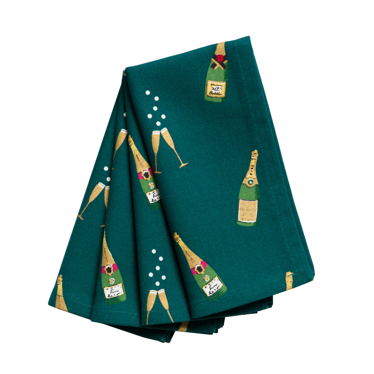 Bubbles & Fizz Napkins (Set of 4)