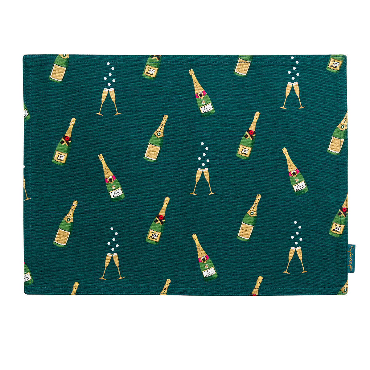 Bubbles & Fizz Fabric Placemat
