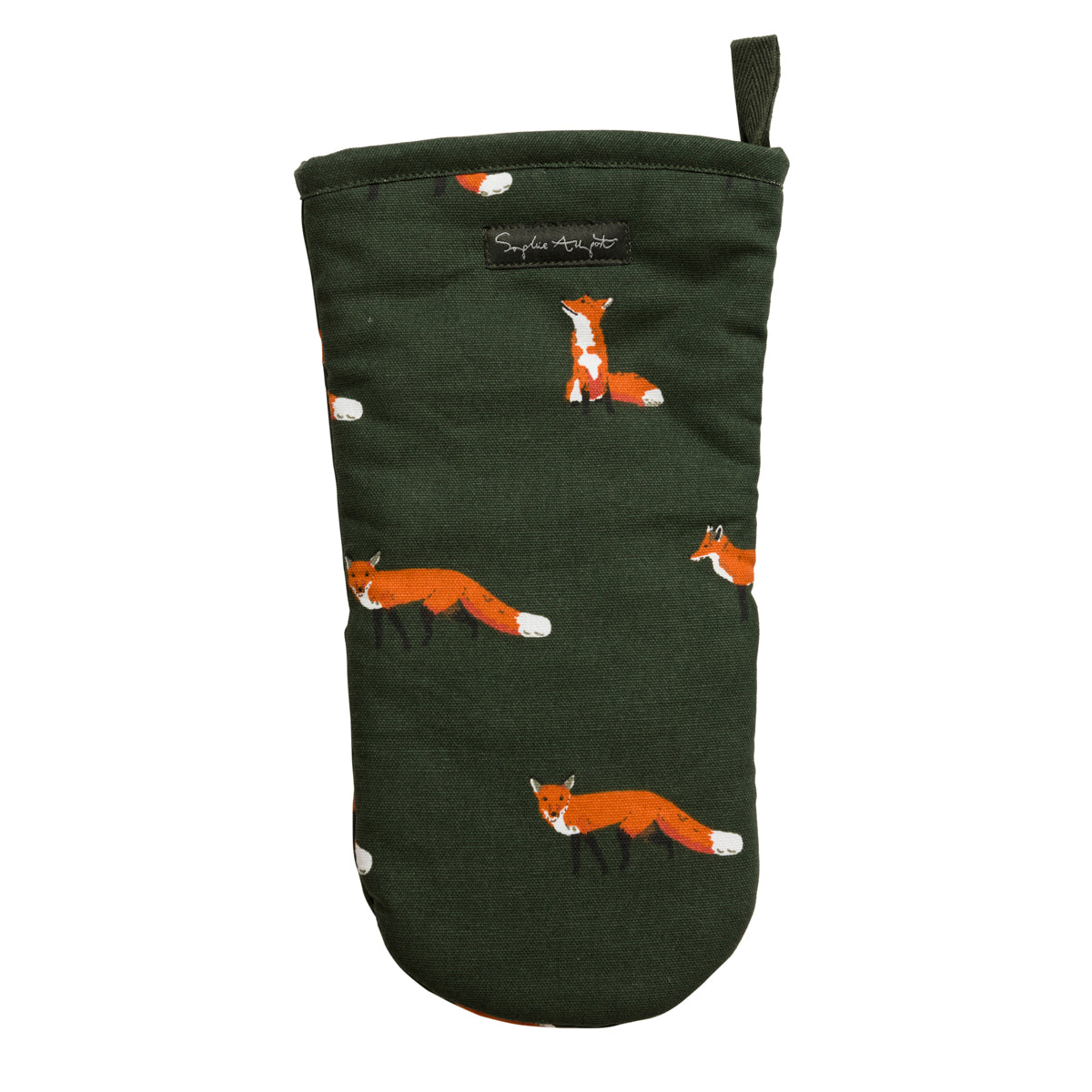 Foxes Oven Mitt