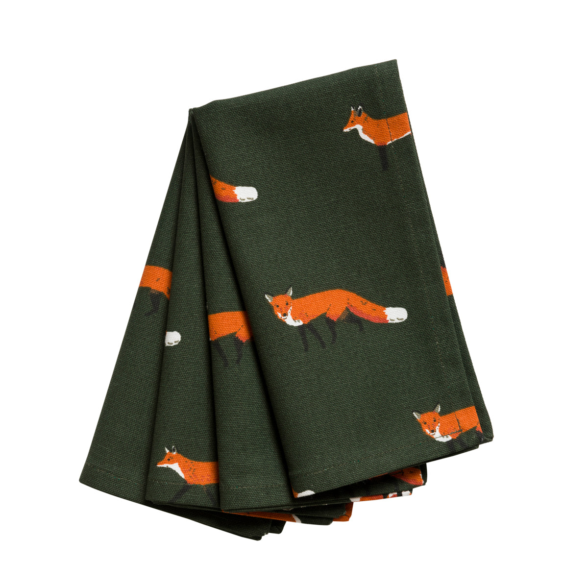 Foxes Napkins (Set of 4)