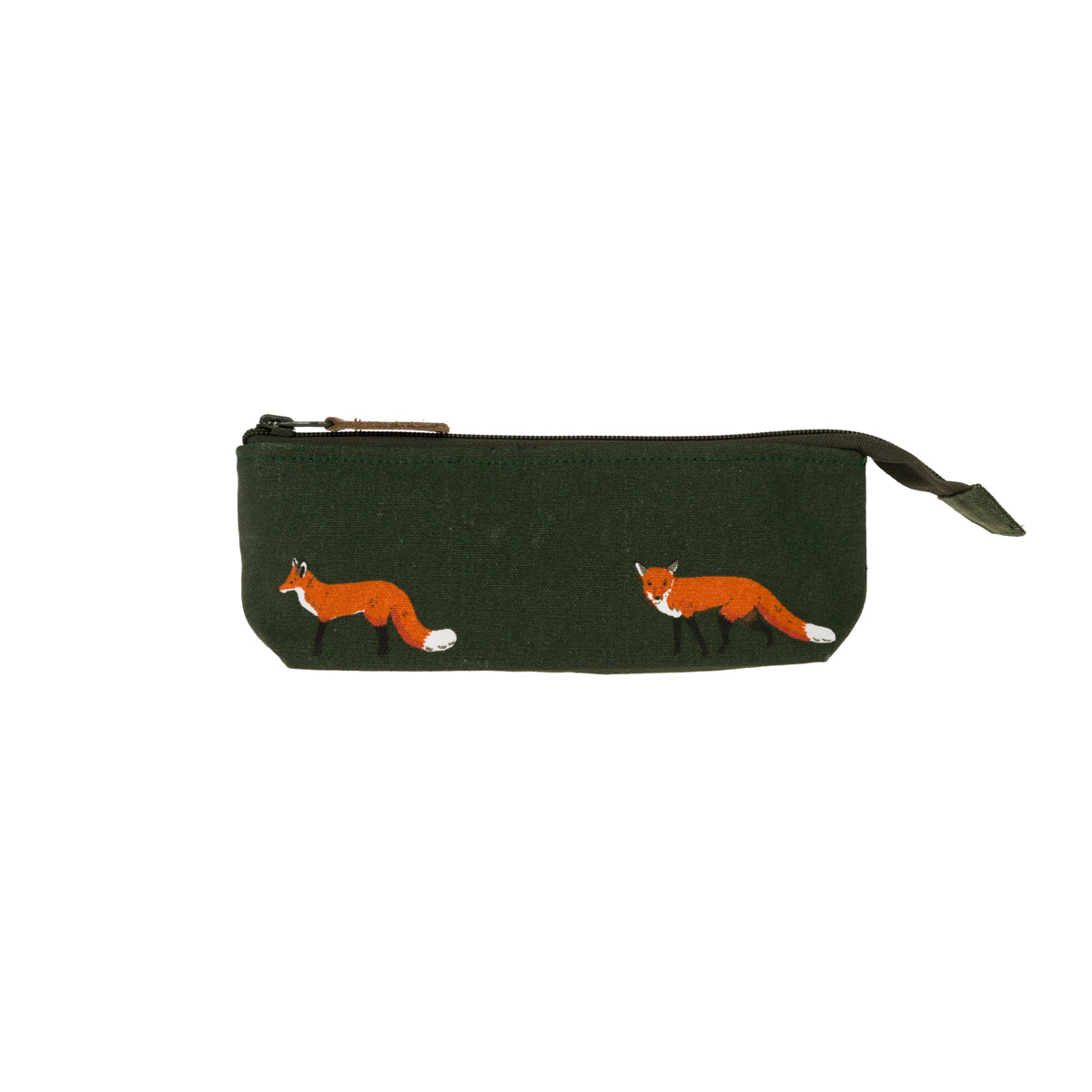 Foxes Canvas Accessory Case