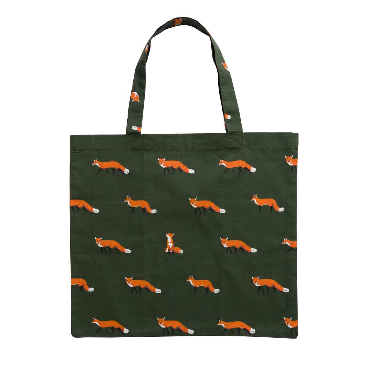 Foxes Folding Shopping Bag