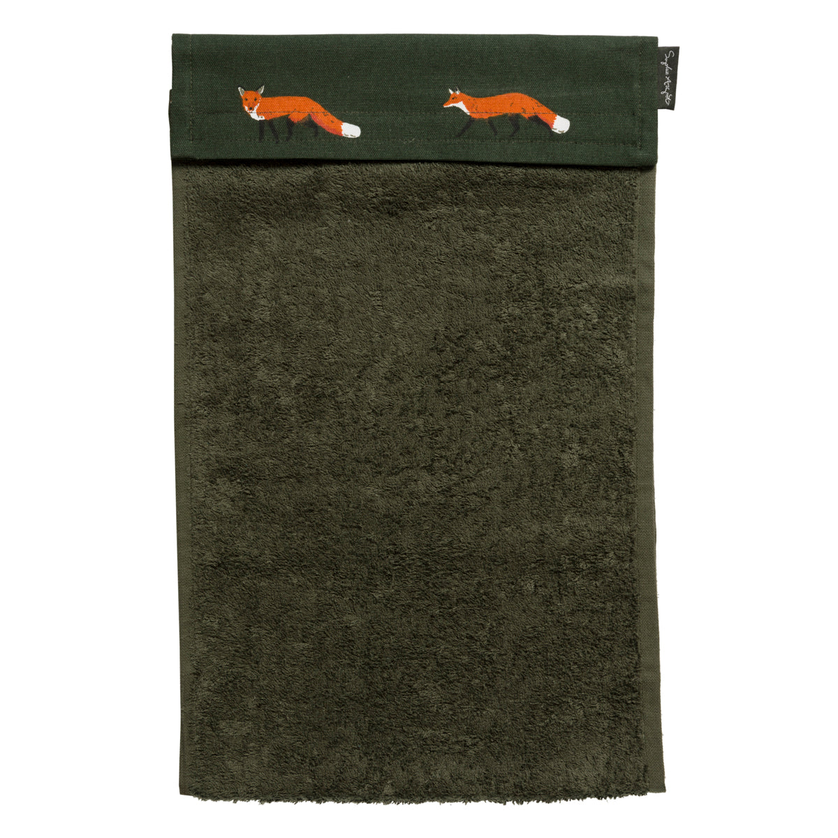Foxes Roller Hand Towel