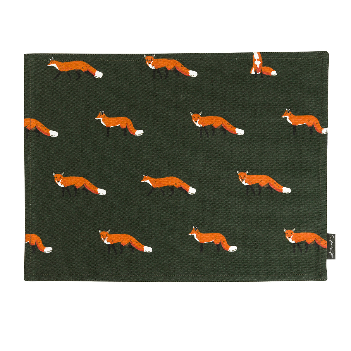 Foxes Fabric Placemat