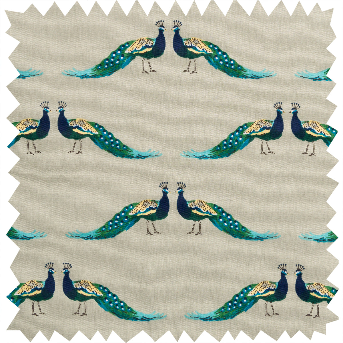 Peacocks Fabric by the Metre