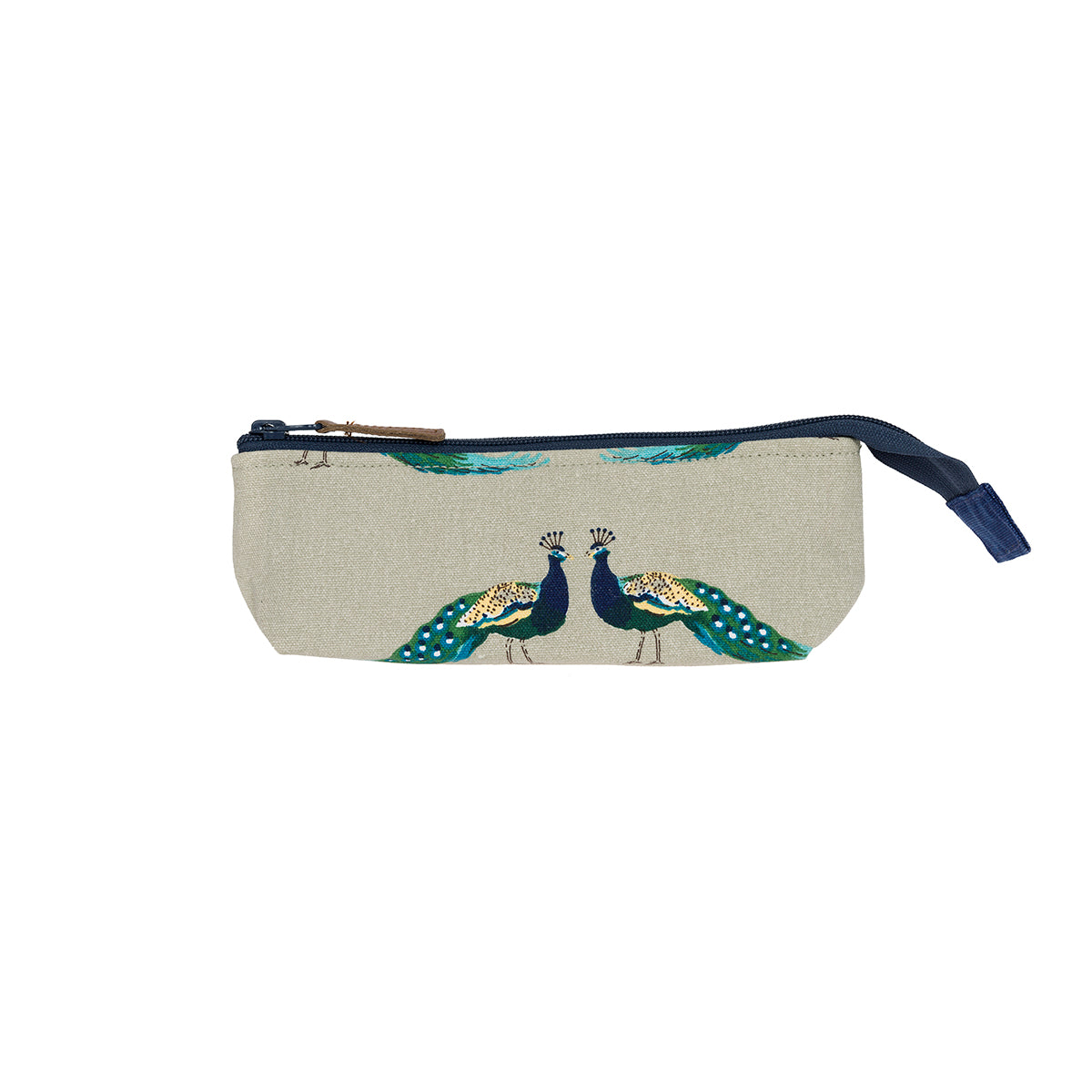 Peacocks Canvas Accessory Case
