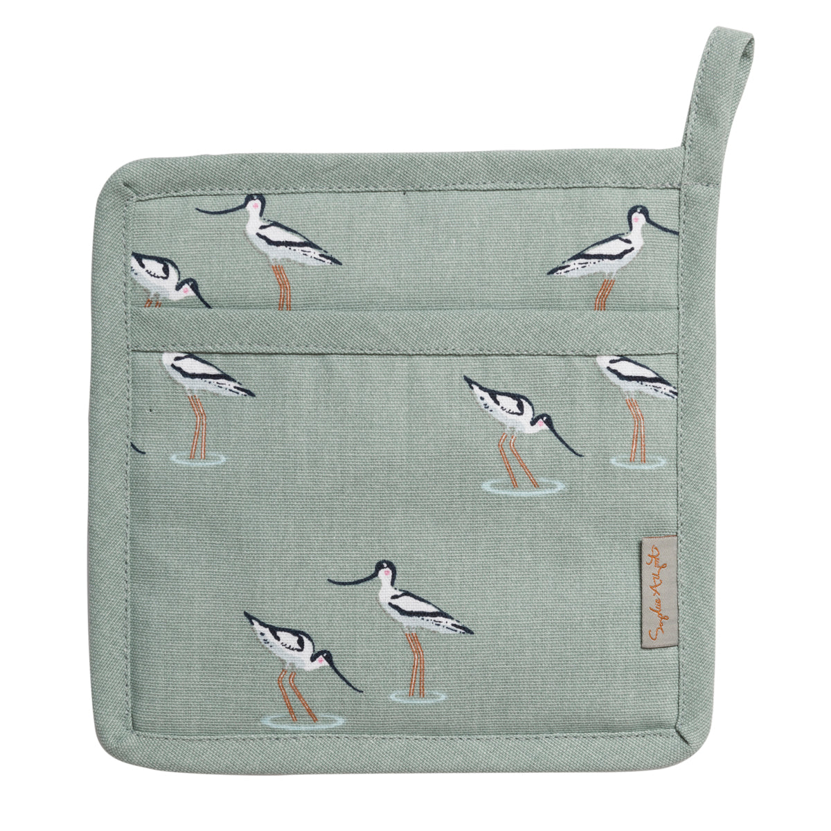 Coastal Birds Pot Grab by Sophie Allport