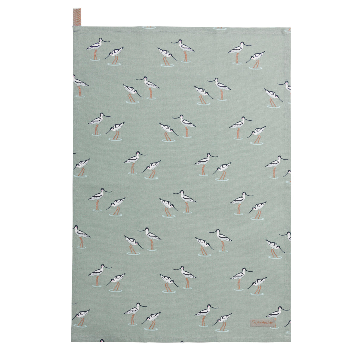 Coastal Birds Tea Towel