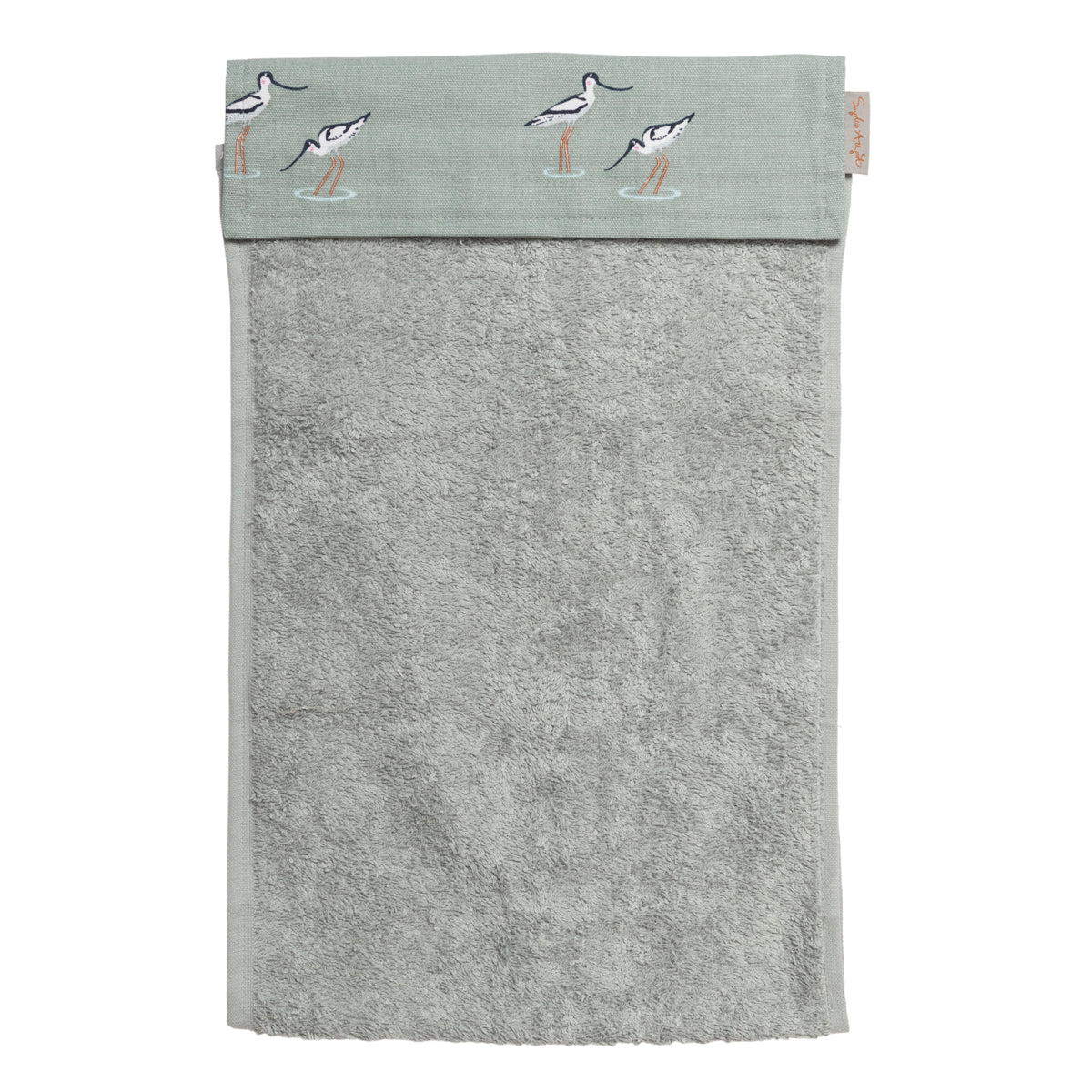 Roller hand towel by Sophie Allport in fresh coastal design