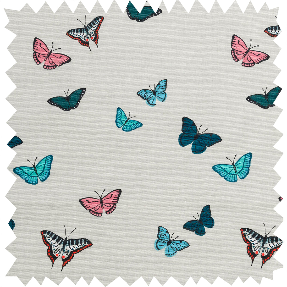 Butterflies Fabric by the Metre by Sophie Allport