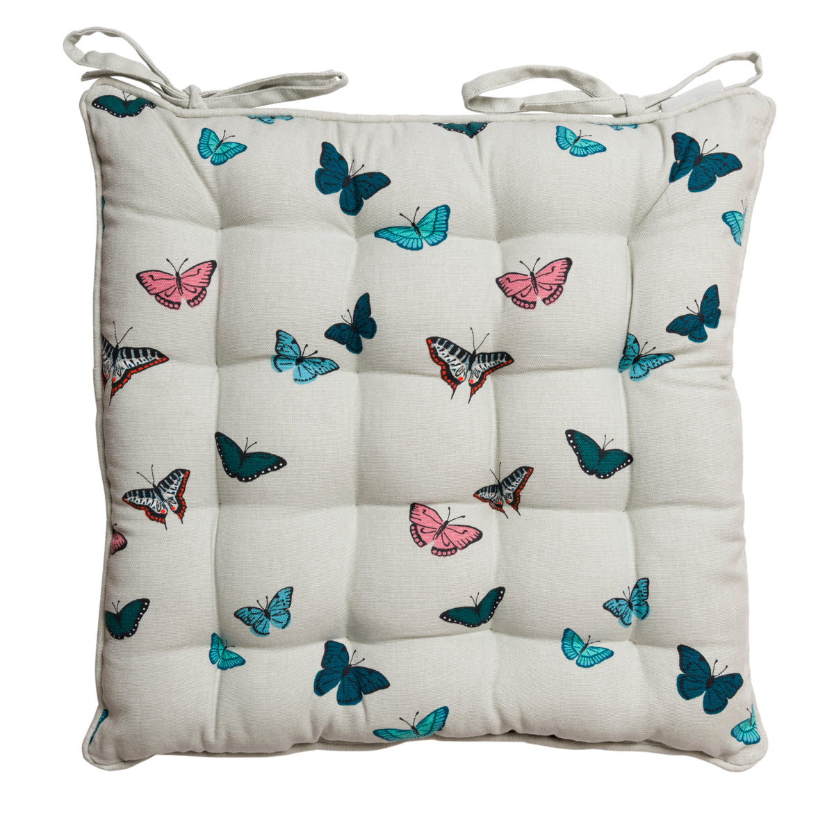 Butterflies Chair Pad by Sophie Allport