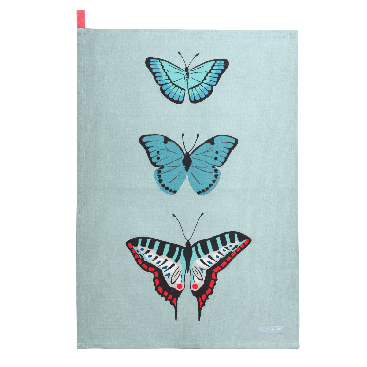 Butterflies Statement Tea Towel