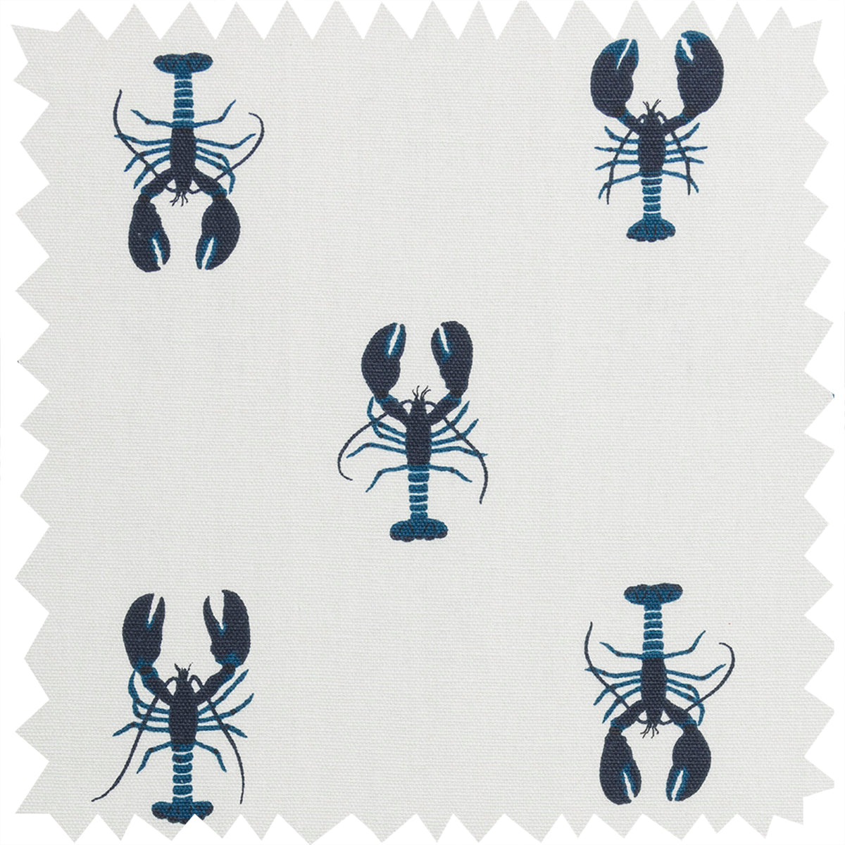 Lobster Fabric by the Metre by Sophie Allport