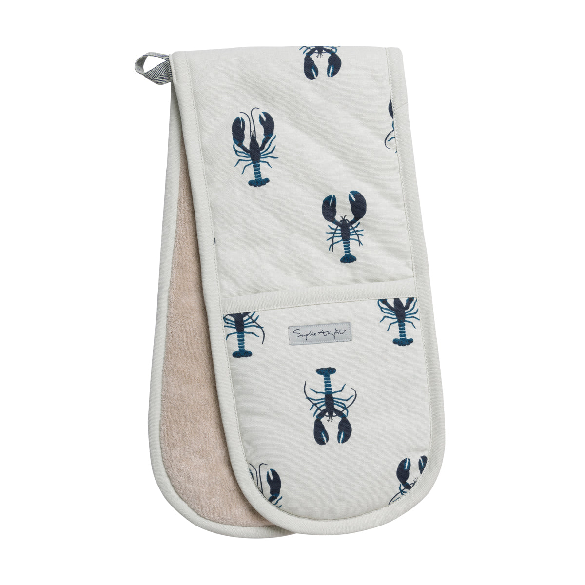Sophie Allport Lobster Double Oven Glove
