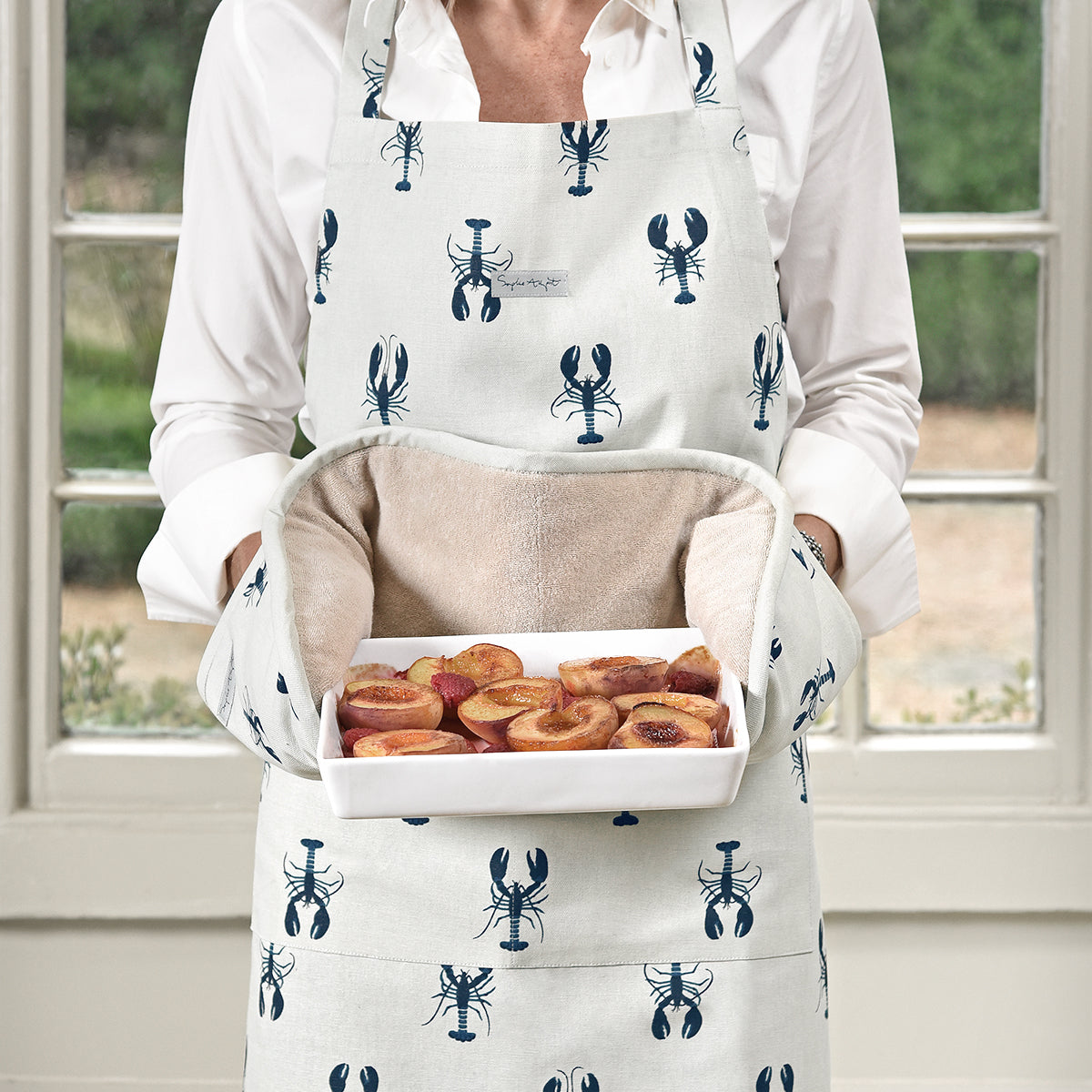 Lobster Adult Apron by Sophie Allport