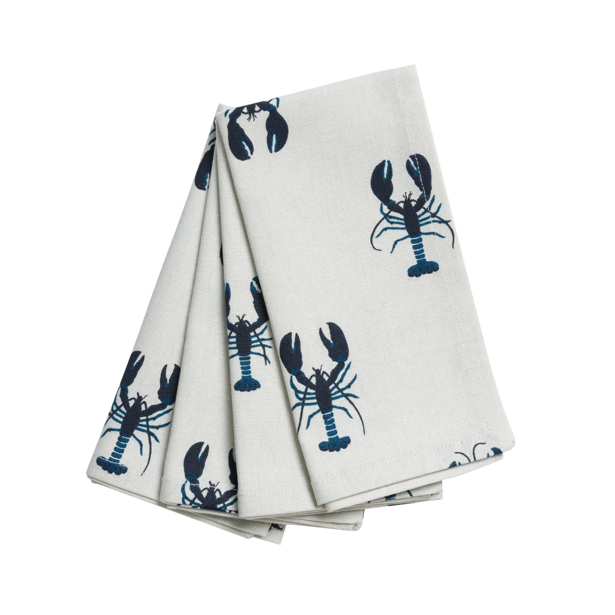 Sophie Allport Lobster Fabric Napkins (Set of 4)