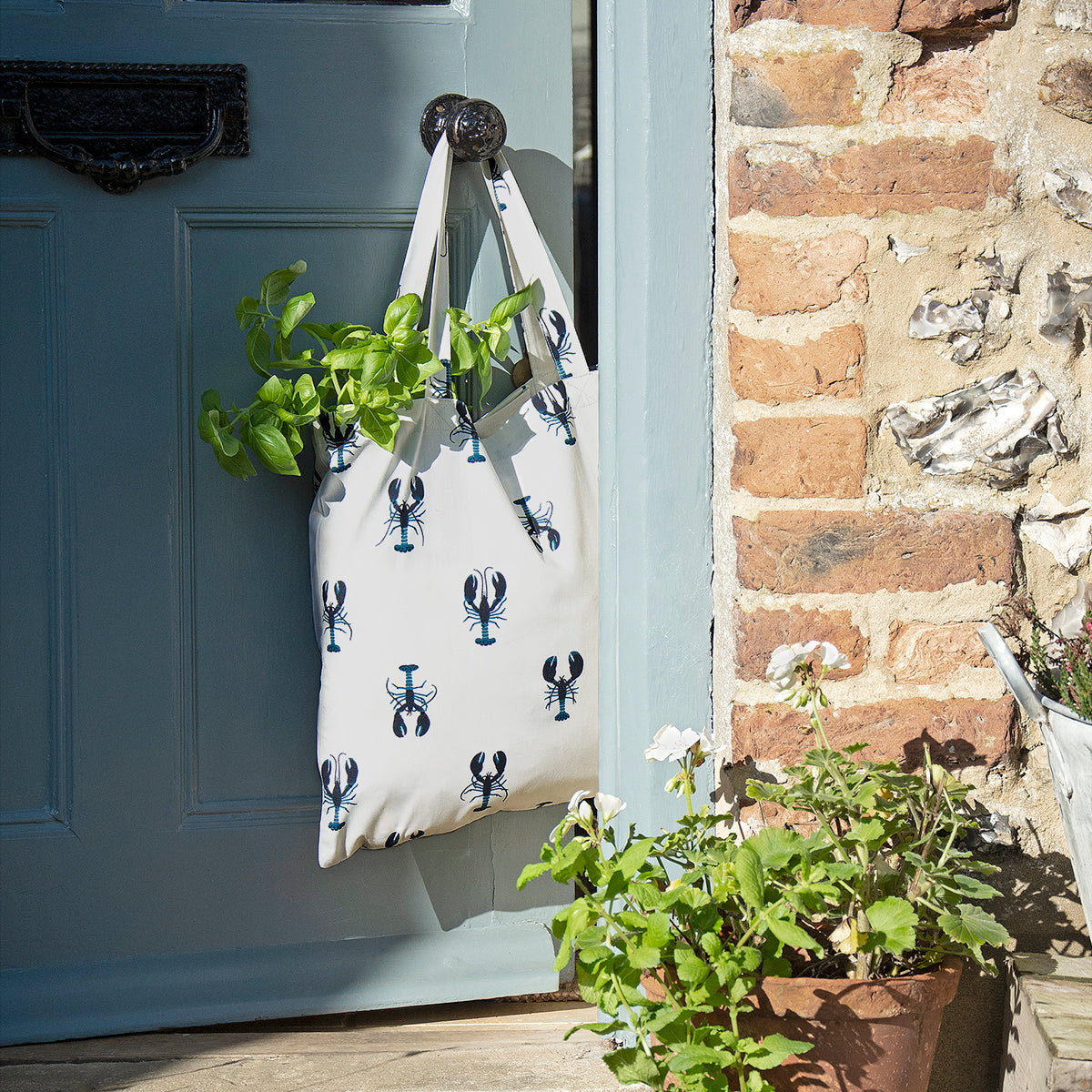 Fold-able shopping bag Lobster by Sophie Allport