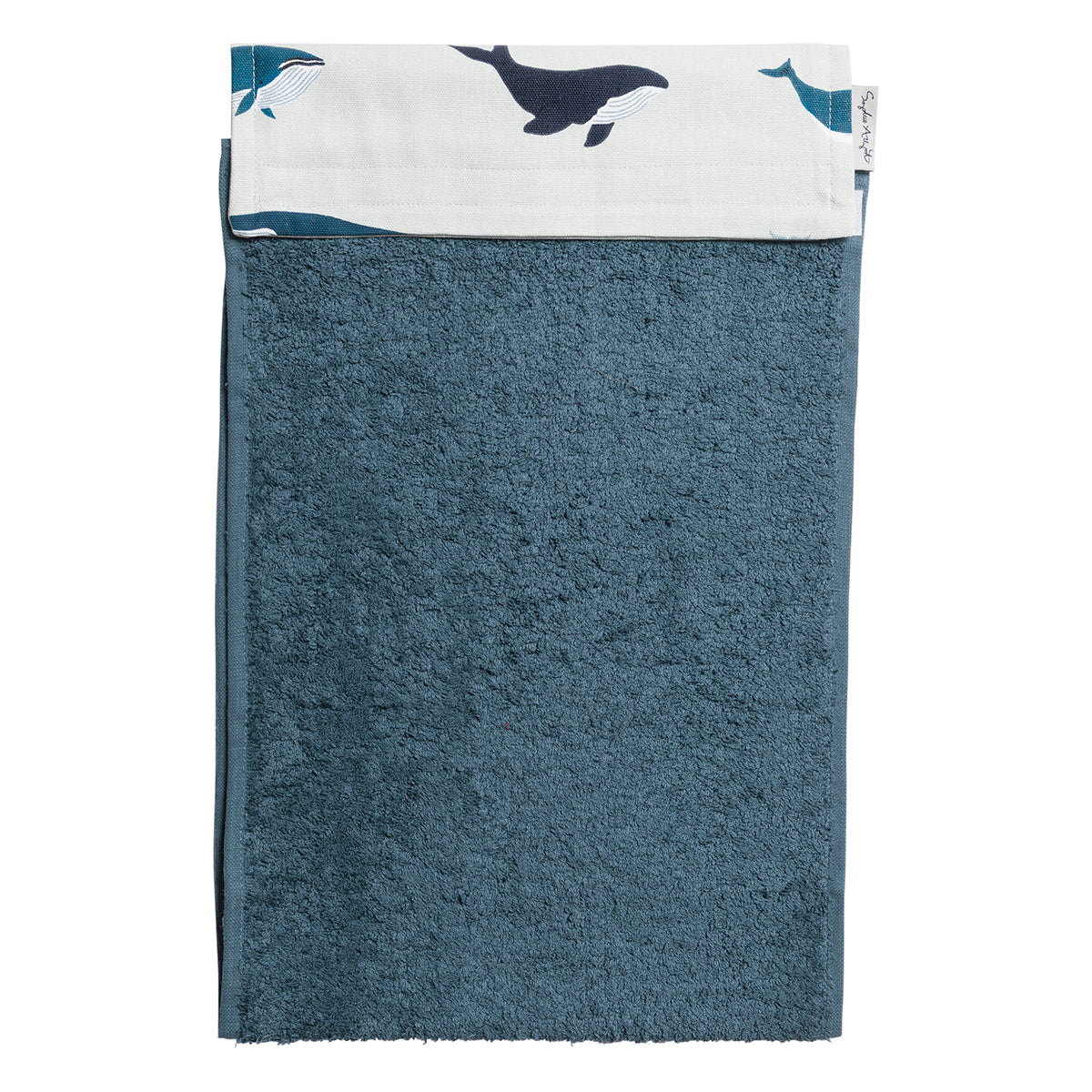Whales Roller Hand Towel by Sophie Allport