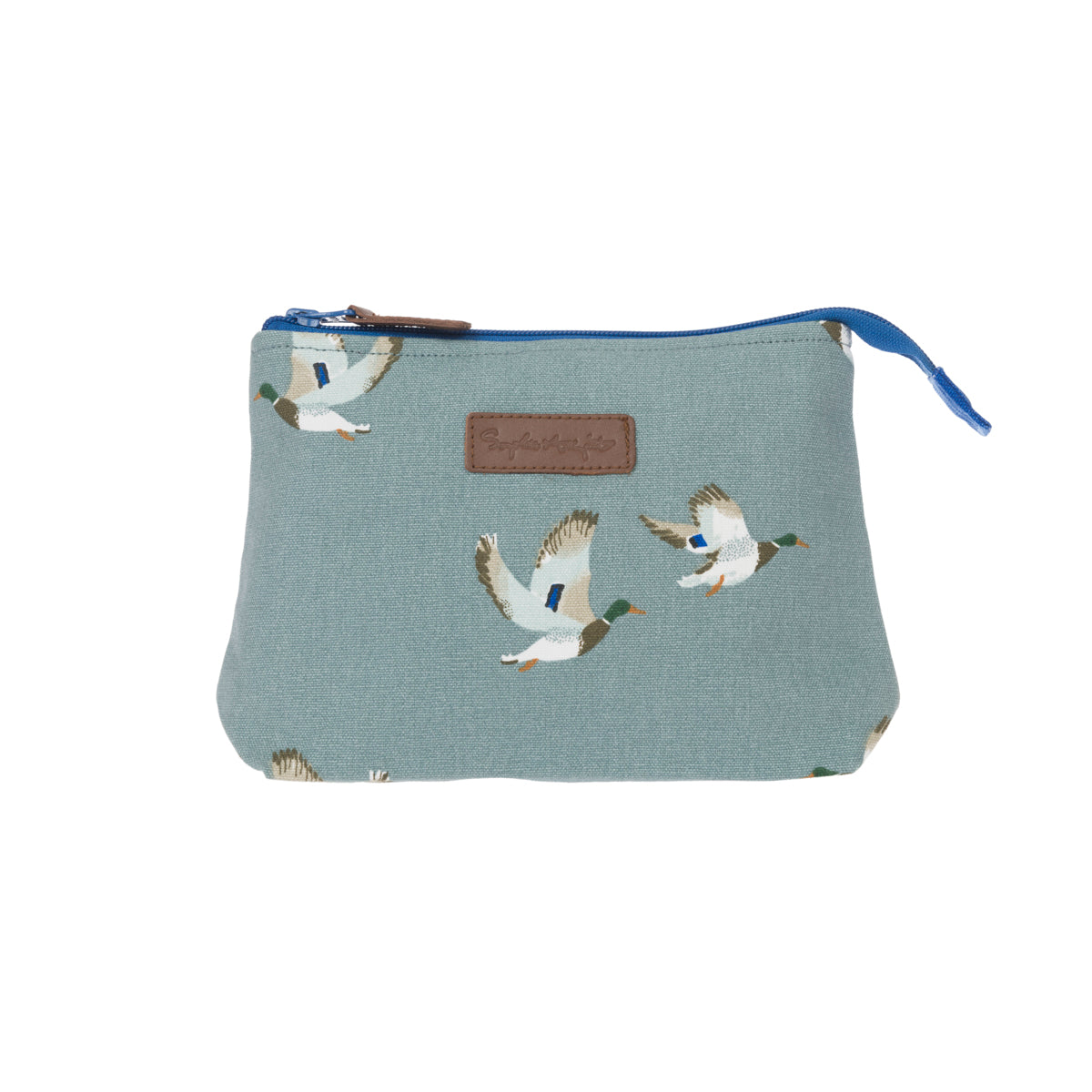 Ducks Canvas Makeup Bag by Sophie Allport