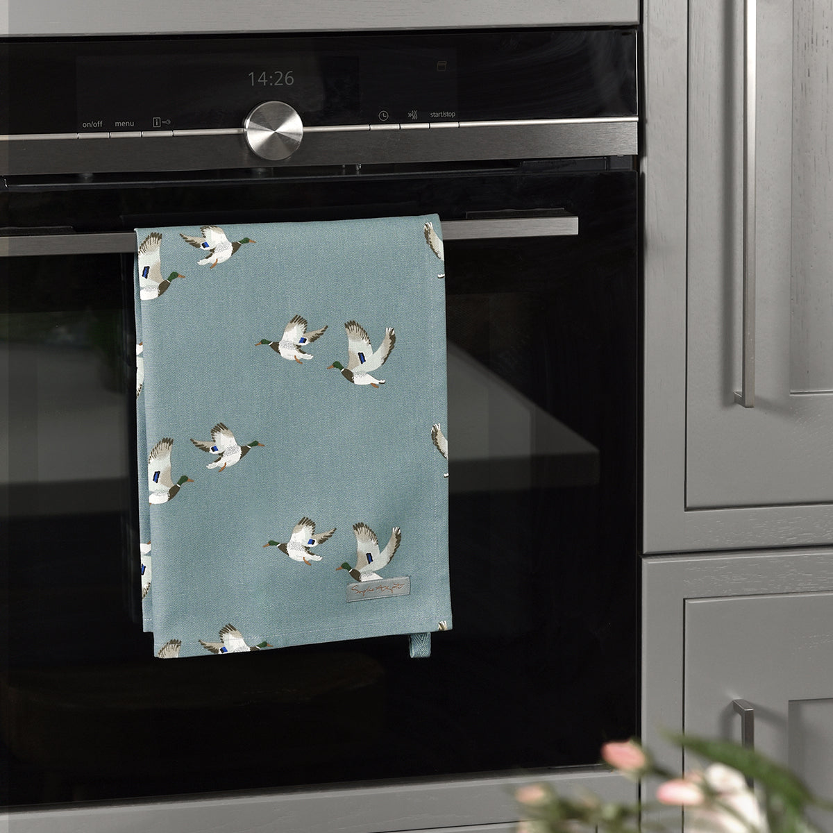 Ducks Tea Towel by Sophie Allport