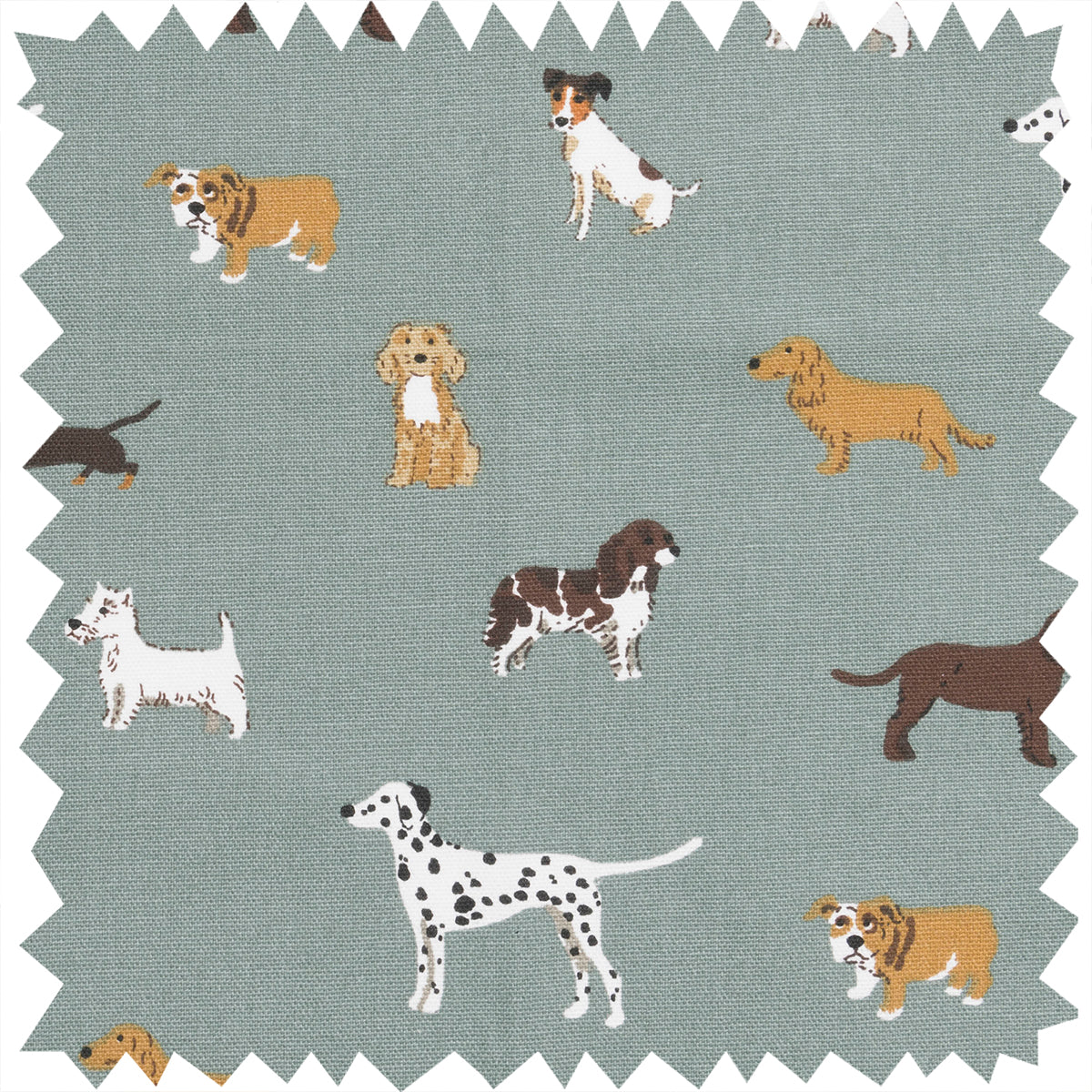 Fetch Fabric By The Metre by Sophie Allport