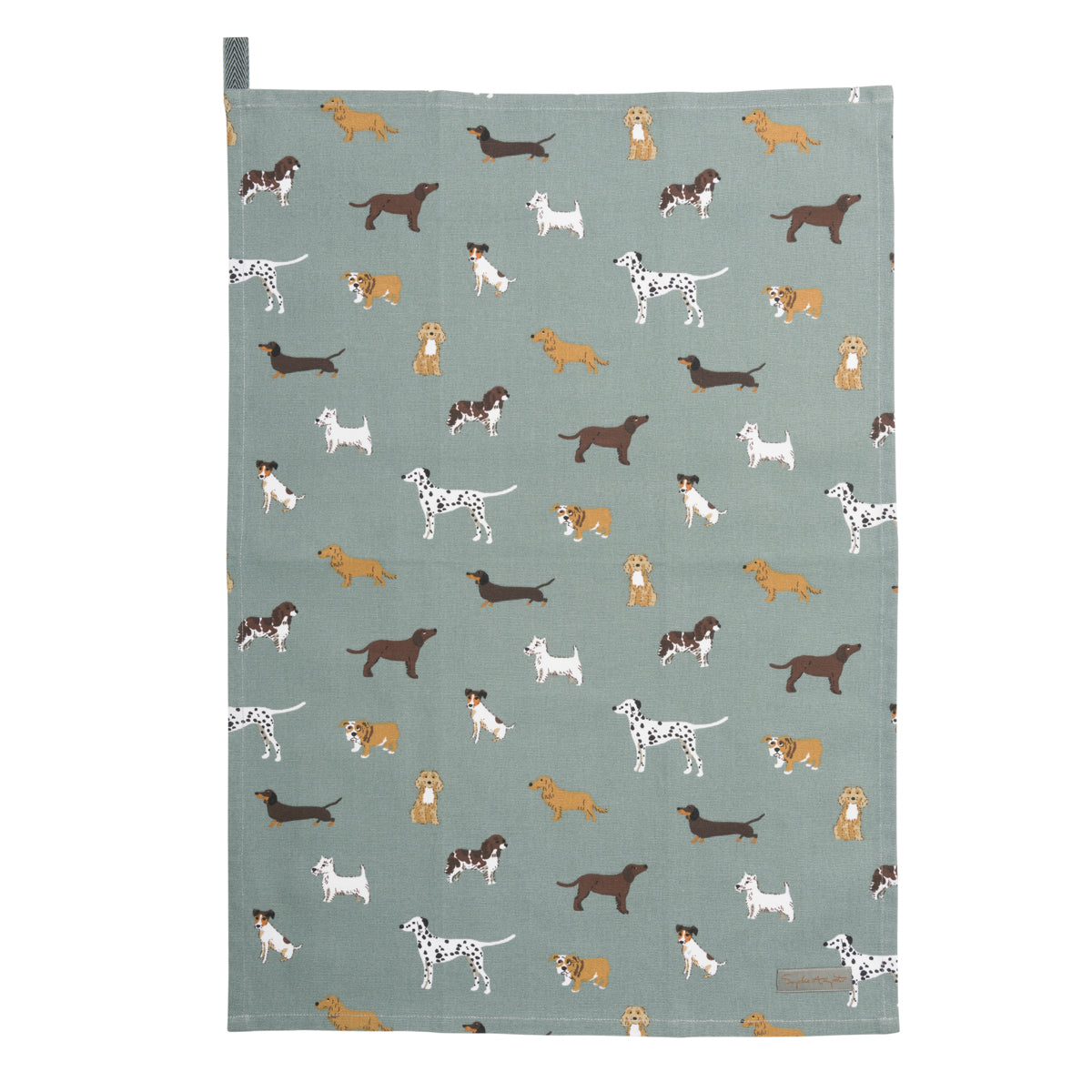 Fetch Tea Towel