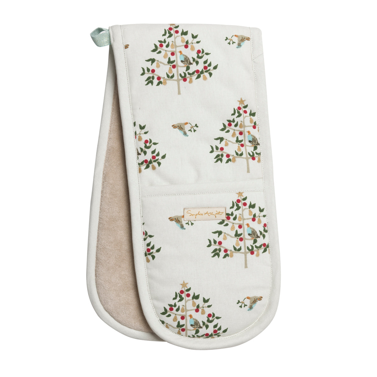 Partridge Double Oven Glove