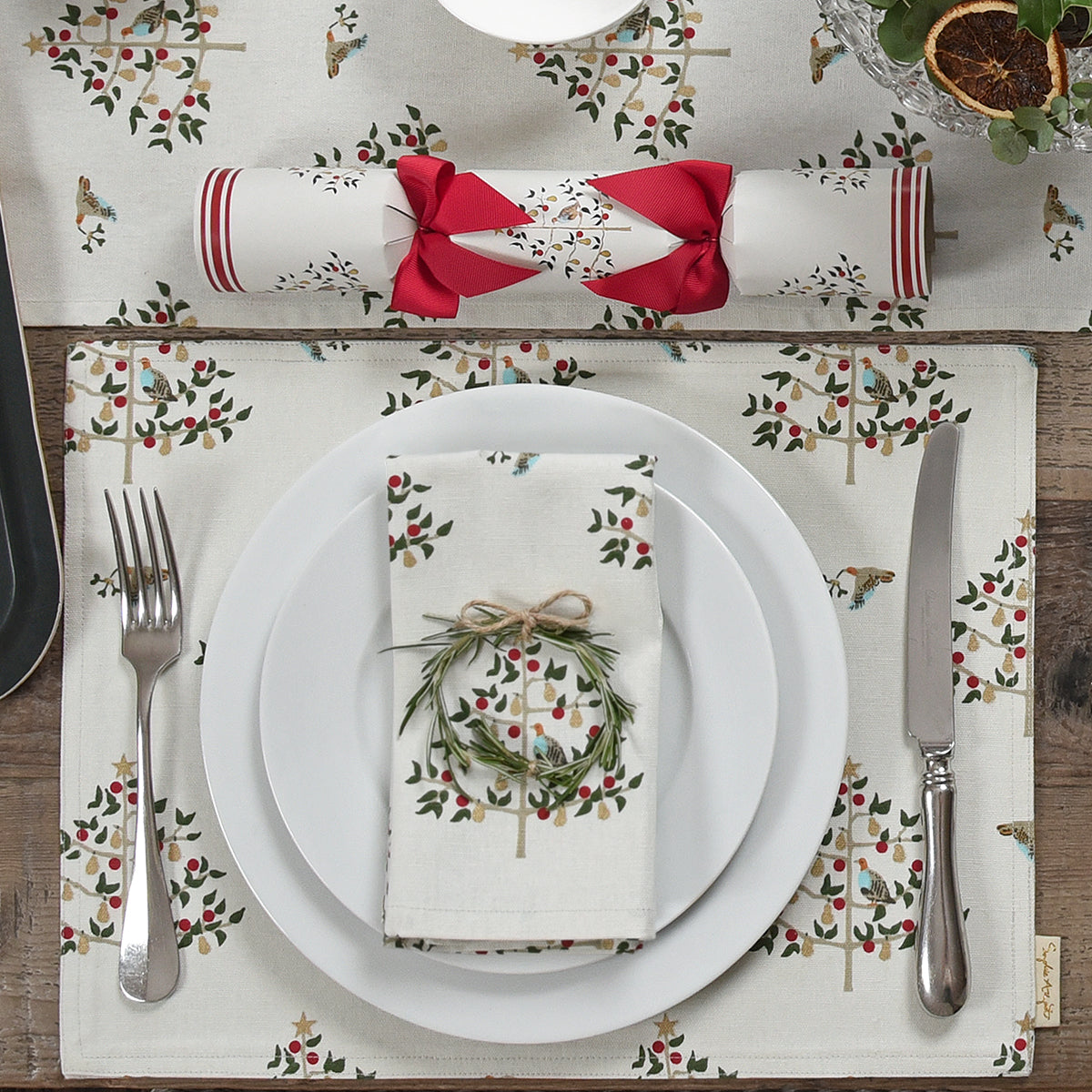 Partridge Napkins (Set of 4)