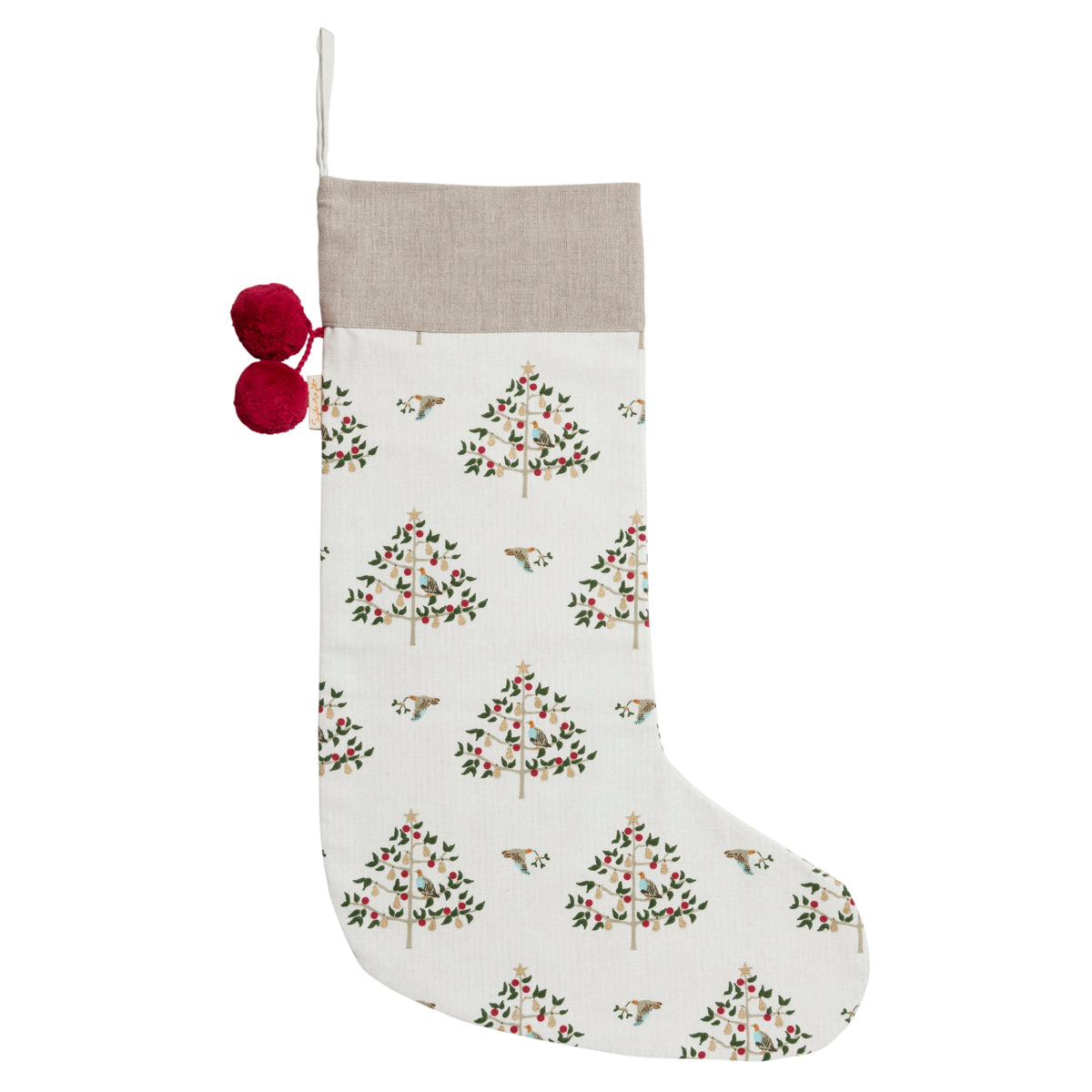 Partridge Chistmas Stocking