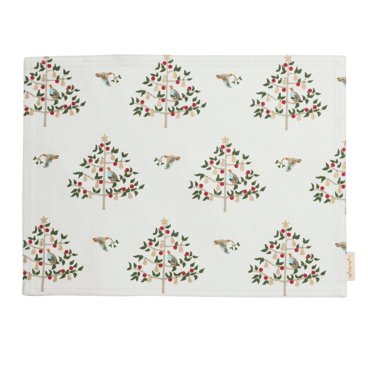 Partridge Fabric Placemat