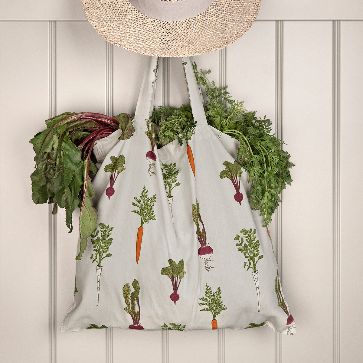 Home Grown Folding Shopping Bag