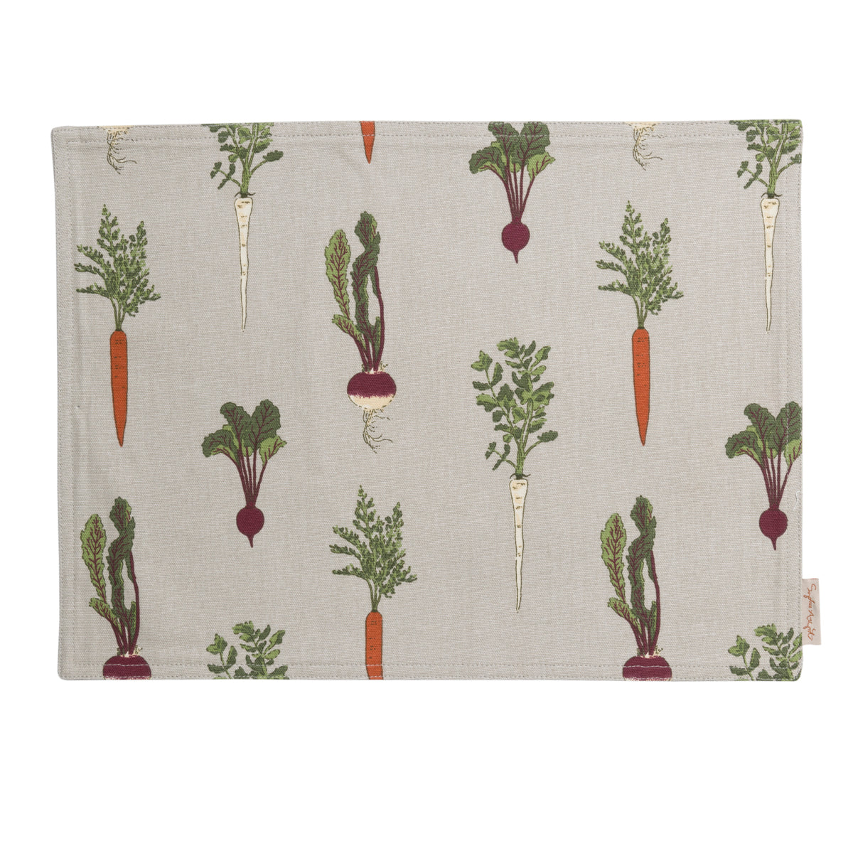 Home Grown Fabric Placemat by Sophie Allport