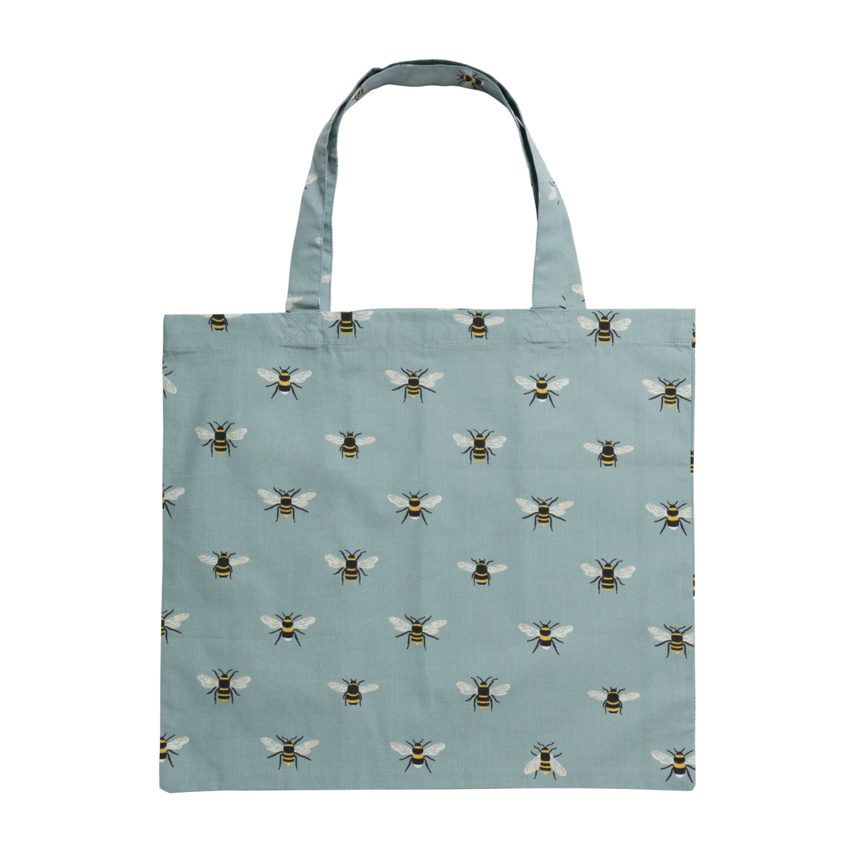 Bees Teal Folding Shopping Bags  by Sophie Allport