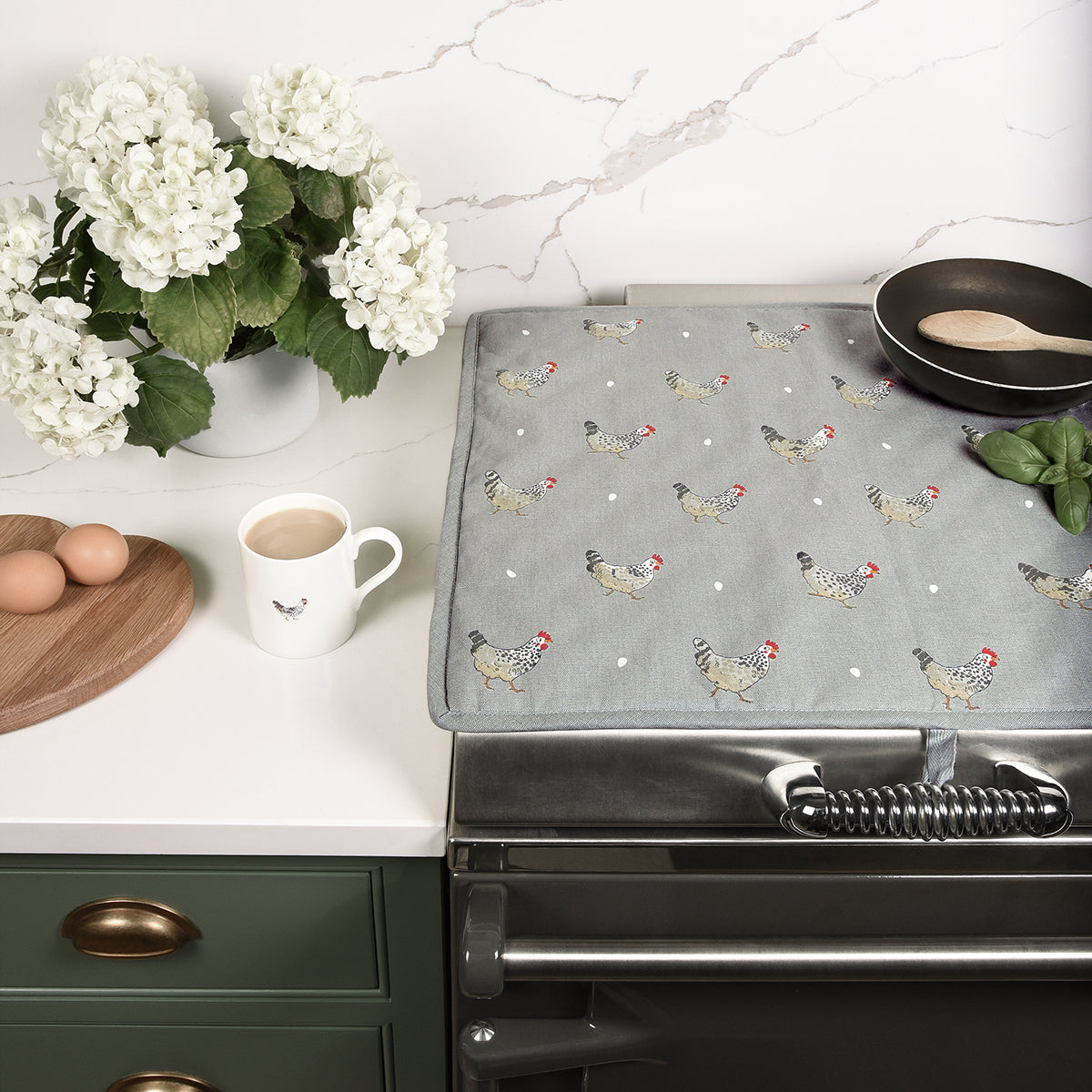 Chicken Rectangular Hob Cover